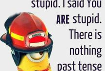 Words With Minions ☺ / My favorite minion sayings!