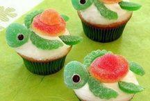 Olivier cupcake