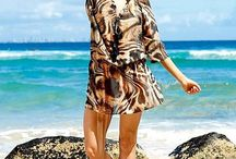 Plus Size Beach Look / Luxury fashion for plus size and curvy women.