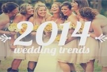 2014 Wedding Trends / The hottest and fabulous wedding ideas you'll love this year.