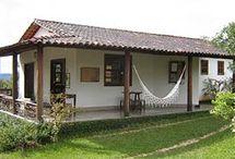 Casas frescas y sencillas de adobe
