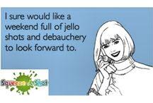 Funny Jello Shot Posts