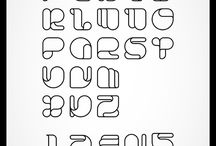 Typography / Words, letters, glyphs & such!