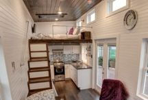 Tiny Houses, decor, plans, interiors