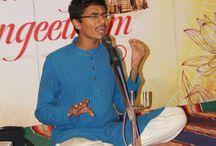 "GIRI'S ""SANNITHIYIL SANGEETAM"" MUSIC FESTIVAL - 13.DEC.2015 (02) / Vocal concert by Prithvi Harish accompanied by Violin - M.Srikanth, Mridangam - P.B.Srivatsa"