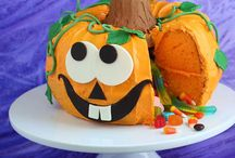 Halloween cake recipe ideas / The BEST Halloween cake recipes and baking ideas for you to celebrate the spooky season with! These easy recipes will be great fun to create with the kids - you'll find devils, pumpkins, skeletons, ghosts and more all in cake form!