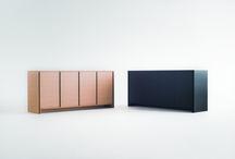 Sideboard MILL REEF / W1800 D450 H800    木部:ホワイトオーク材、ポリウレタン塗装仕上(5色)