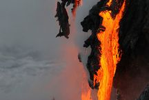 Fire, Volcanoes / Anything hot