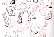Character design: Shoes