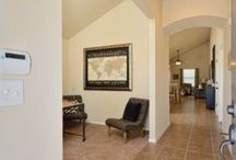 Rowan Floor Plan / The Rowan Single level  w/ 3 bed with study/den, 2 ba, great room, 1448 sqft Available in Mission Ridge and Villa Valencia  www.desertviewhomes.com
