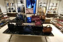 """Visual Merchandising for #Burberry FW2016 / New Collection FW2016 VM for #Burberry at """"The Fashion Gallery"""" (Madrid Airport T1)"""