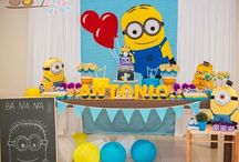 minion birthday theme