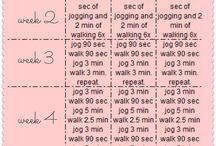 Running- beginner to 5k's