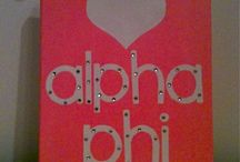 Alpha Phi / by Alexis Banks