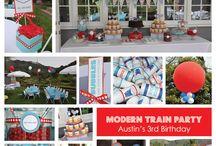 Choo choo train party planning / by Natalie Jones