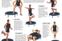 Rebounder exercises