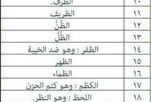 لغه عربية