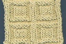knitting stitches / by Bex B