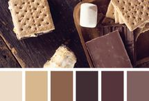 Color palettes : Brown