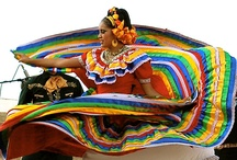 Spanish and Latin American folclore / At Elinqua.com we offer Skype Spanish lessons about Spanish and Latin American folclore and Hispanic culture.