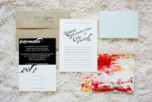 Paper Goods and Type / mainly wedding invites and programs, and typography related things. / by Sarah VanCamp Kern