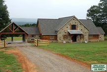 Timber Frame Gallery / Timber frame manufacture and construction is just the kind of traditional craft that we at Appalachian Log & Timber Homes specialize in. In our homes, however, the beautiful timber framework is left exposed to the interior of the home, creating breathtaking effects of open spaces and craftsmanship rarely seen in more than a century.