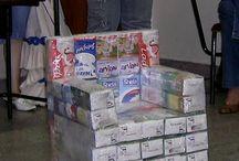 Diverse din cutii de lapte