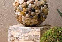 Craft with rocks