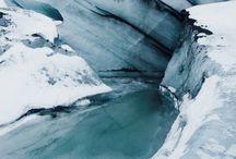 Antártida (Moodboard de Escenario)