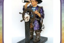 Life Size Pirate Statues / Butlers and Signs has a great selection of pirate statues that are sure to impress with their intricate design, immensely colorful and life likeness.  The pirate decor is most versatile used in many combinations, yet looks good at every angle. We offer unmatched quality, design as well as customer service. The pirate statues are very realistic replicas and definitely will be a hot topic for discussion.Price includes shipping. Buy today.