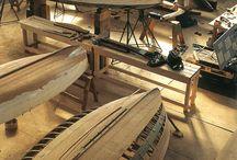 drevené lode