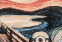 Edvard Munch minion