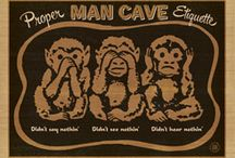 Man Cave Collection / We've created a whole line of prints just for the man who needs a sanctuary. A realm. A kingdom. A secret habitat. A domain where he can rule and hold court with his pals. We know what guys like, and we have created a whole line of mantastic prints—perfect for any Man Cave. / by Anderson Design Group