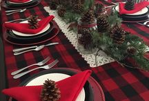 Country Christmas Dining