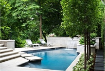 Pools, backyards and surrounds / by Jenni Miller
