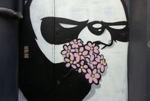 street art/graffitis
