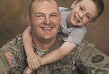 Military / The brave men and women who serve our country have brave family members who stand beside them. We believe these bonds should be remembered with photography.  / by JCPenney Portraits