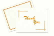 Wedding Thank You Notes / Thank-you notes are a must-do for every wedding gift you receive, but we all know that doesn't mean you love them. Take the advice of someone who's been there...