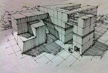 건축스케치연습