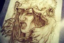 Headdress Tattoo