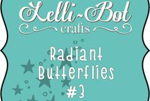 Radiant Butterflies #3 / Brand New Kit Relaunch on the 17th September. An old favourite, made up to date with 8x8 papers.