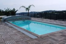 Piscine / Quelques conseils et idées déco pour aménager votre piscine en toute simplicité !