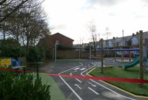Northern Parade Junior School / One of our play sites at Northern Parade Junior School.