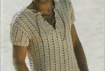 hombre tejidos