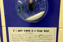Writing activity / Snow globe