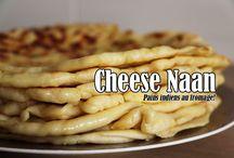 Cheese naan / pain indien