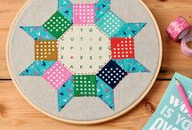English Paper Piecing / Delicious quilting and patchwork projects, packed with ideas for your next quilt. Get the latest looks from ombre to mono magic.