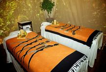Spa at Ylang Ylang Beach Resort / Tropical spa nestled in the jungle.  / by Ylang Ylang Beach Resort