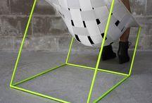 mobiliario tejido