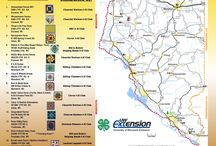 Brochures and Maps for Barn Quilt Trails